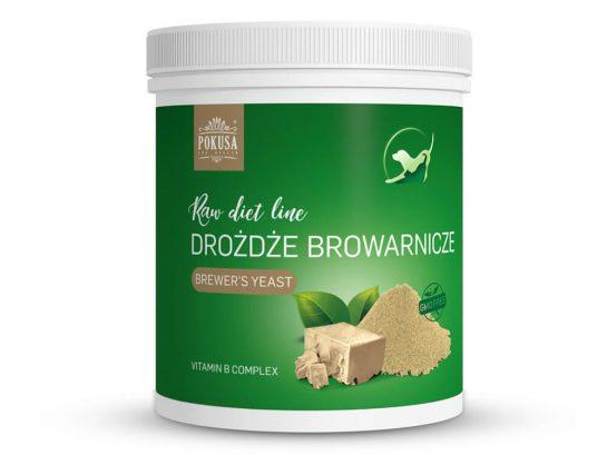 Drożdże browarnicze suplement dla psa Pokusa RawDietLine