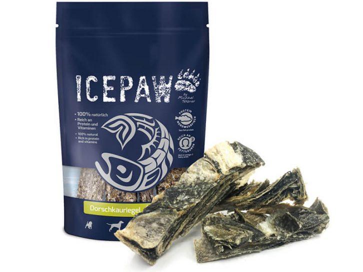Przysmaki z dorsza dla psa ICEPAW Dorsch